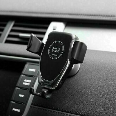 AU16.59 • Buy AU Qi Wireless Car Charger Mount Phone Holder For IPhone 13 Pro 12 X Samsung S20