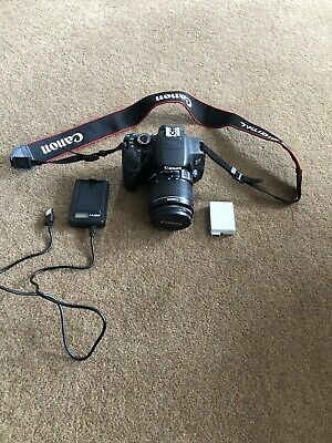 £35 • Buy Canon EOS 650d 18.0 MP Digital SLR Camera (Kit With EF-S 18-55mm) Only 4500 Shot