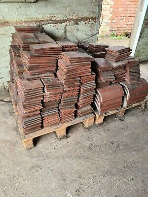 £30 • Buy Dreadnought Clay Roof Tiles Good Condition, 15 SQM ++ Ridge Tiles