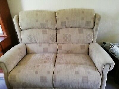 £100 • Buy High Back Sofa And Two Reclining Chairs Used But In Very Good Condition
