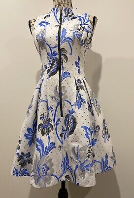 AU105 • Buy Cue Floral Fit And Flare Dress Size 10