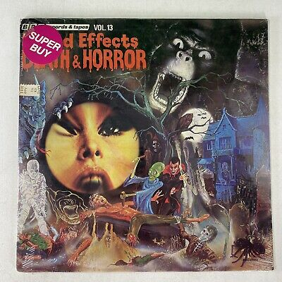 £36.37 • Buy BBC Records Sounds Effects 13 Death & Horror Halloween Vinyl Record SEALED! 1977