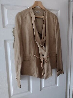 £5.50 • Buy Size 18. Linen Mix Jacket By ** Laura Clement