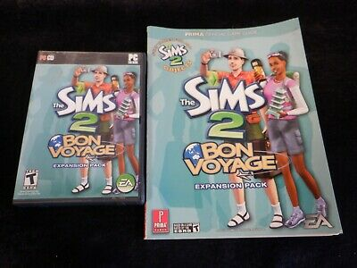 £14.62 • Buy Video Games - Sims 2: Bon Voyage Expansion Pack And Guidebook - Good Condition