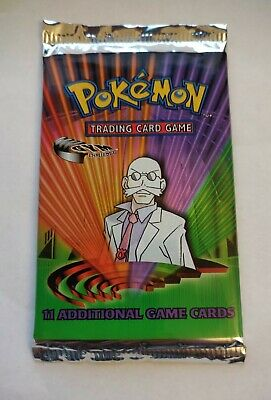 $135.50 • Buy Pokemon Gym Challenge Booster Pack - Blaine - Factory Sealed