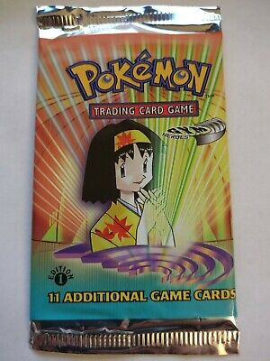 $180 • Buy Pokemon Gym Heroes 1st Edition Booster - Erika Artwork - FACTORY SEALED!!