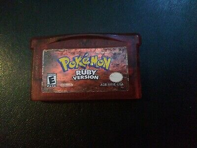 $50 • Buy Pokemon Ruby Version, Nintendo GameBoy Advance,Very Good,Tested, Authentic, 2003