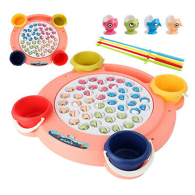 £29.53 • Buy Electric Rotating Fishing Game Musical Fish Plate Set For Children Kids Toys