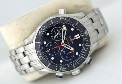 £3250 • Buy Omega Seamaster 300 - Navy Chronograph Automatic Watch (2015)