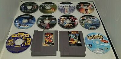 £36.56 • Buy 12 Video Game Collection Lot. NES, XBOX, PC. Panzer Dragoon, Back To The Future