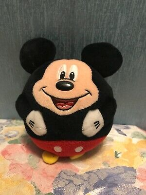 """£5.08 • Buy Preowned Plush 5"""" T TY Plush BALL Mickey Mouse Disney"""