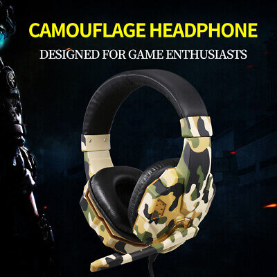 AU14.99 • Buy 3.5mm Gaming Headset Headphone With Microphone For PC Laptop
