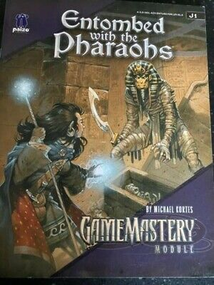 AU20 • Buy Entombed With The Pharaohs Gamemastery Module Pathfinder 3.5 D&D
