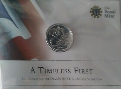 £1.99 • Buy £20 Coin Set The George And The Dragon 2013 UK £20 Fine Silver Coin.