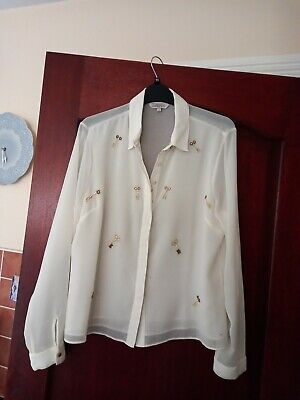 £3.19 • Buy Marks And Spencer Ladies Blouse Size 14