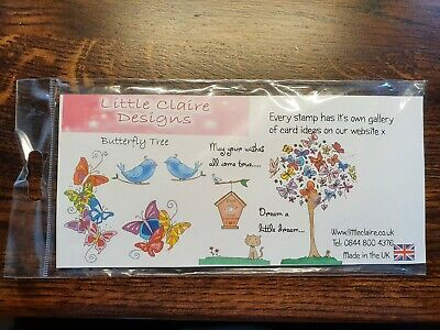 £1.99 • Buy Little Claire Stamps - Butterfly Tree - Used Lightly