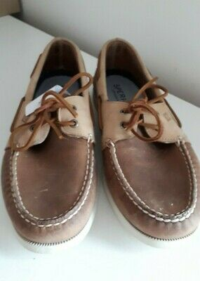 £45.99 • Buy Sperry Top-Sider Brown Suede Leather Men's Boat Shoes  UK 12  EU 47   RRP £90