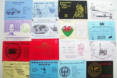 £0.99 • Buy R9) Old QSL Cards X 16