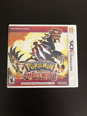 $45 • Buy Pokemon Omega Ruby (3DS, 2014) Authentic Tested