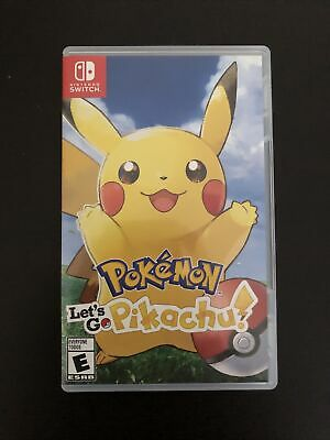 $42 • Buy Pokemon Let's Go Pikachu - Nintendo Switch Tested Complete