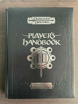 AU162.30 • Buy Dungeons And Dragons 3.5 Dungeon Players Handbook Limited Black Leather Edition