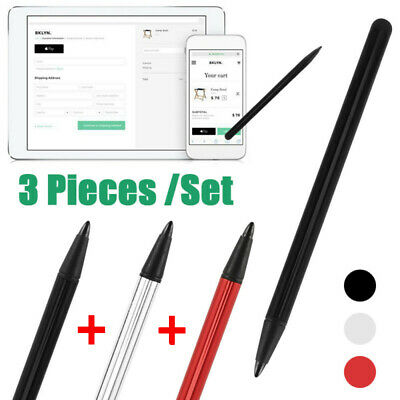 £2.49 • Buy 3pcs Stylus Touch Screen Pen For IPad IPod IPhone Samsung PC Cellphone Tablet WT