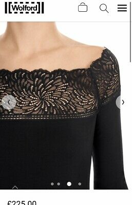 £29 • Buy Wolford Lace Detail Top  S