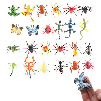 £5.05 • Buy 12x Plastic Insect Model For Kid Toy Novelty Tricky ToysR_I4