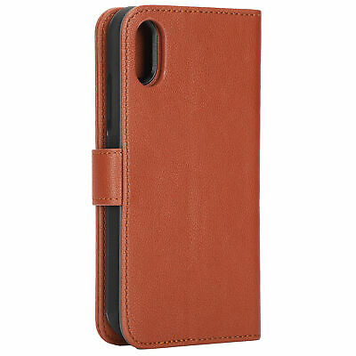 AU21.60 • Buy Phone Wallet Leather Case For Iphone XS 6.1 Inch Leather Card Holder Stand Cover