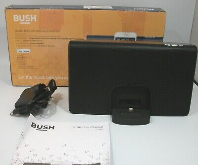 £24.99 • Buy BUSH IPHONE SPEAKER CHARGER STAND ALSO ANDROID PHONE SPEAKER Model: IS460