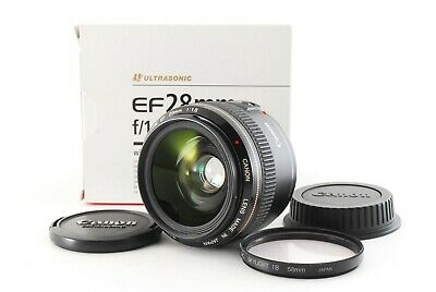 £277.54 • Buy Canon EF 28mm F/1.8 USM Prime Lens W/Box Rare Made In Japan Tested Fedex #7735