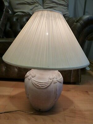 £30 • Buy Large Terracotta Table Lamp With Shade