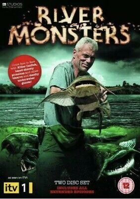£7.99 • Buy River Monsters: Series 1 [DVD] (2010) Jeremy Wade [2 X DVD] *NEW SEALED*