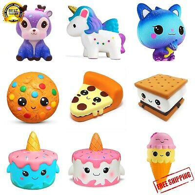 AU7.31 • Buy New Jumbo Squishy Squishys Soft Rising Stress Relief Slow Squeeze Toys For Kids
