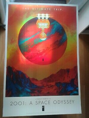 £199.99 • Buy Matt Griffin, 2001: A Space Odyssey, Foil, Limited Edition Movie Poster