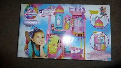 £25 • Buy Barbie Dreamtopia Princess Castle 95 Cm Tall With Two Dolls