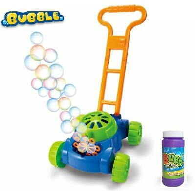 AU19.99 • Buy Bubble Blower Mower Machine Lawn Games Outside Toys For Kids Toddlers Fun 44