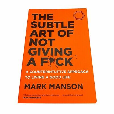 AU15 • Buy The Subtle Art Of Not Giving A F*ck By Mark Manson