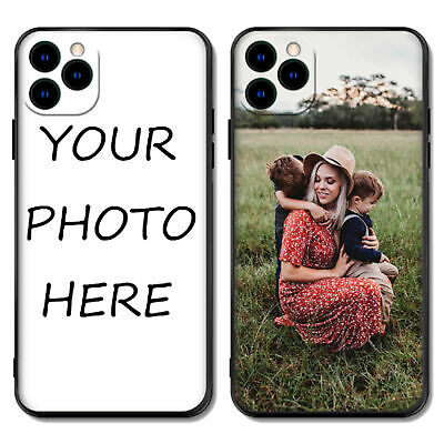 AU19.88 • Buy Personalised TPU Silicone Gel Phone Case Cover Custom Photo Picture Text Image