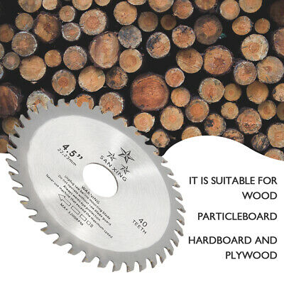 £5.89 • Buy 115mm 40T Circular Wood Saw Blades Discs Plunge Cutting Angle Grinder Tools UK