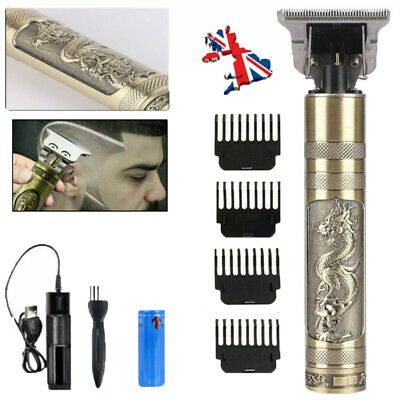 £11.99 • Buy Electric Hair Clippers Professional Mens Retro Cordless Trimmer Beard Shaver LS