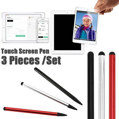 £2.59 • Buy 3x Stylus Pen Touch Screen Universal IPhone IPad Samsung PC Cellphone Tablet UK