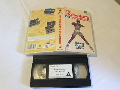 £4.99 • Buy Mr Motivator Blt Workout VHS PAL Tape Gmtv Bums Legs And Tums