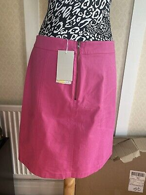 £21 • Buy Boden Daisy Pink Chino Skirt Size 12L New