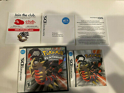 AU74.59 • Buy Pokemon Platinum Version Nintendo DS Authentic Case And Manual Only No Game.