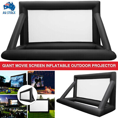 AU199.99 • Buy 6M*4M Inflatable Giant Movie Screen 16:9 Outdoor Projector Cinema Theatre