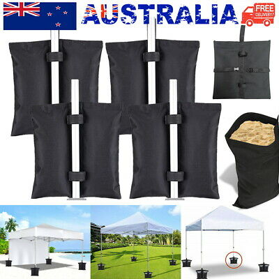AU22.50 • Buy 4 PACK Garden Gazebo Foot Leg Feet Weights Sand Bags For Marquee Party Tent AU