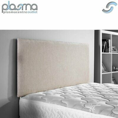 £59.99 • Buy ValuFurniture Chenille Fabric Headboard In Cream 3FT 4FT 4FT6 5FT 6FT Sizes