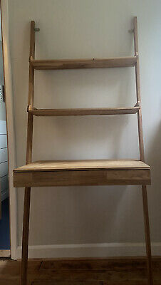 £170 • Buy Futon Company Leaning Ladder Desk With Drawer And Shelves Excellent Condition