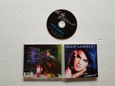 AU10.89 • Buy For Your Entertainment By Adam Lambert (CD, 2009, Sony)